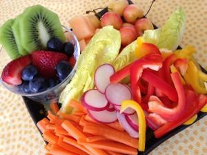 fruit and veggie snacks