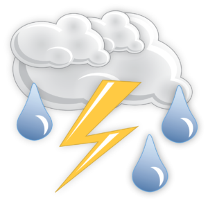 thunderstorm graphic