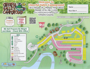 cheerful valley campground sitemap
